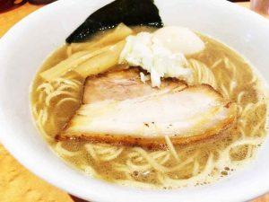 【麺家 一鶴|いっかく】ミシュランも認めた一杯「濃厚な鶏煮干しラーメン」