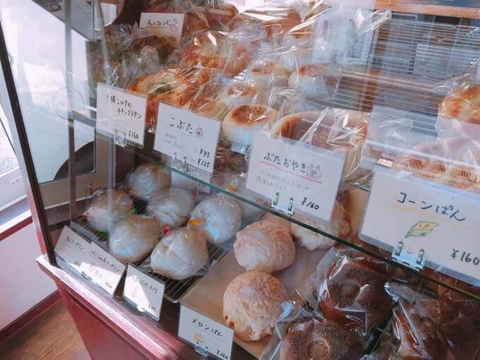 ネーミングの可愛いパン