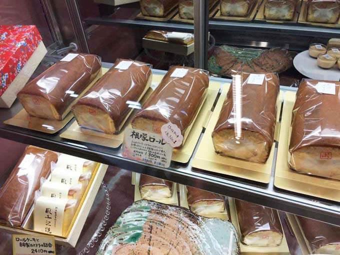 人気の根塚ロールケーキ