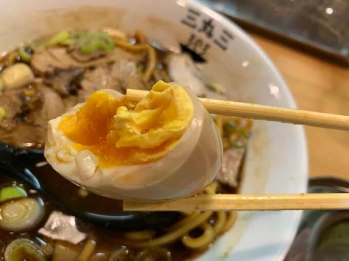 醤油スープにマッチする味玉