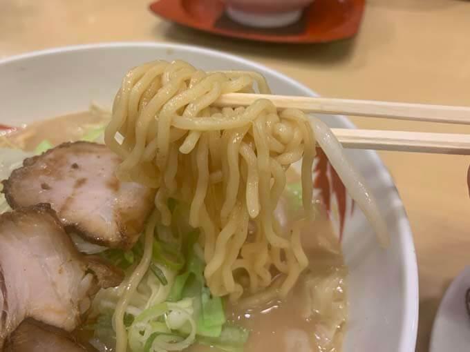 中華麺が美味しい