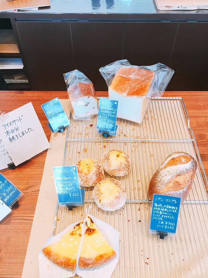 パンを注文するスタイル
