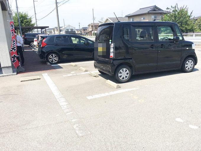 ひでお屋の駐車場 その2