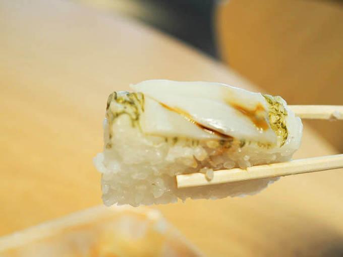 コリコリ食感のバイ貝