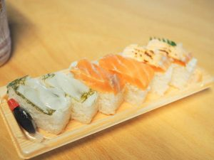 寿司一   3種盛りがおすすめ「富山駅でソロ鱒の寿司にピッタリのサイズ感」