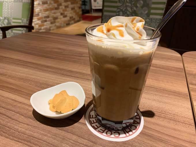 黒蜜カフェオレが美味しい