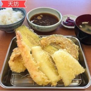 【天坊 てんぼう】富山婦中町にある天ぷら食堂「揚げたてを楽しめる」