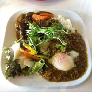 【FLAT+   フラット】富山市二口町にある大衆ビストロ。平日ランチのカレーを楽しむ。