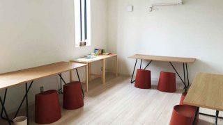 【無印良品】オーク材の折りたたみテーブル。幅広でシンプルなデザインが良き
