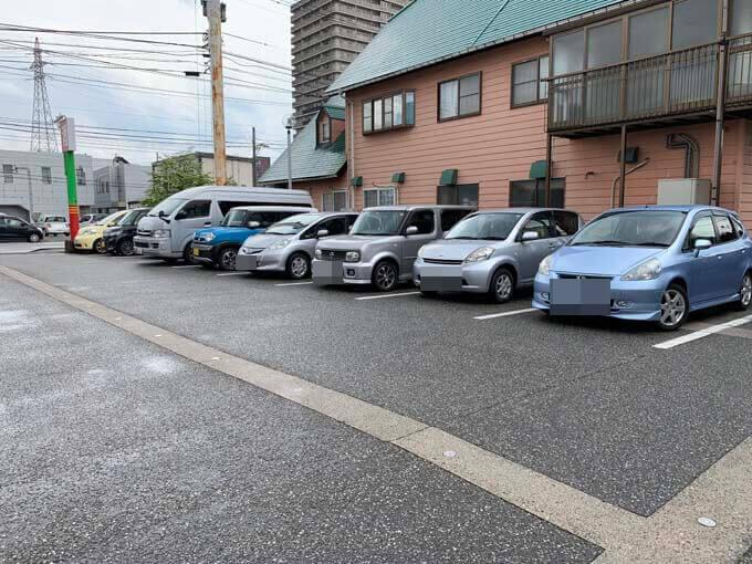10台以上停められる駐車場