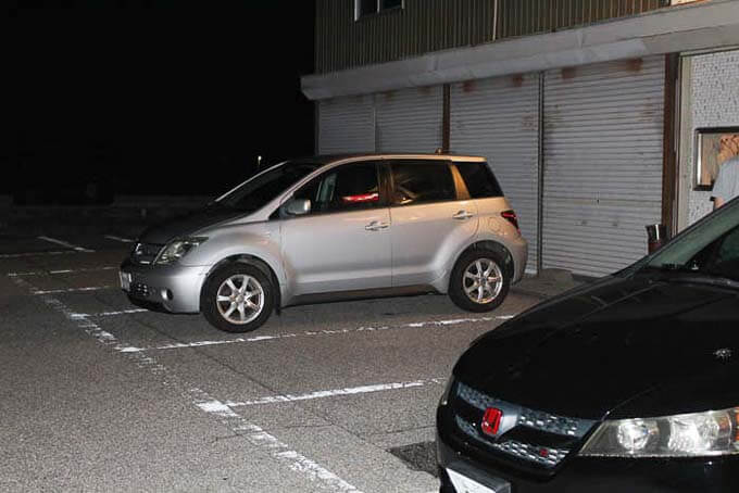吉平の駐車場