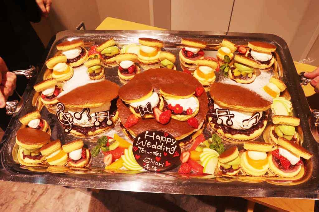 誕生日、記念日のギフト用ケーキも人気