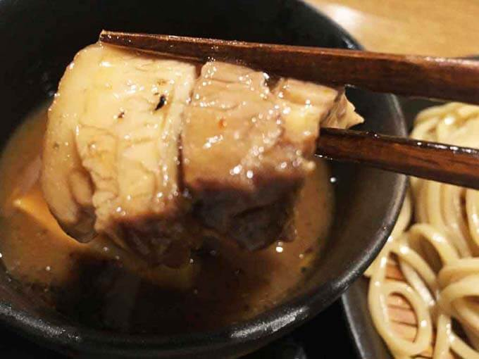 豚の角煮のようなチャーシュー