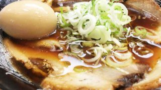 【五衛門】煮玉子がピカイチの醤油ラーメン、数量限定の黒豚チャーシューも絶品