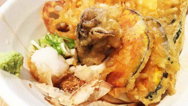 【金沢製麺処】片町でうどんランチ、加賀野菜の天ぷらが美味