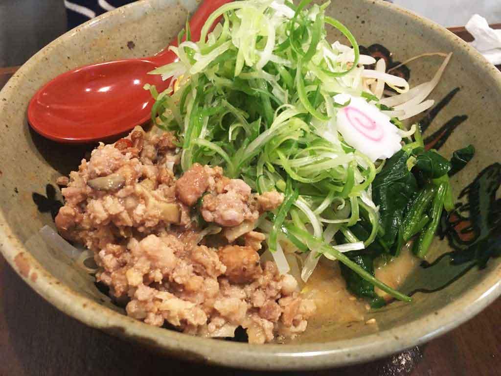 『麺家竜馬』の油そば 720円