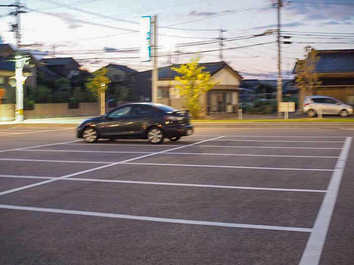 無料駐車場がある