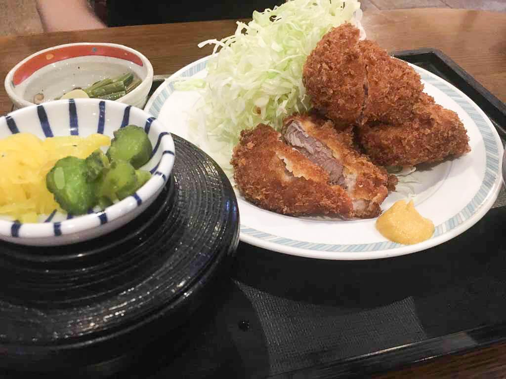 ヒレカツ定食(120g) 1,200円