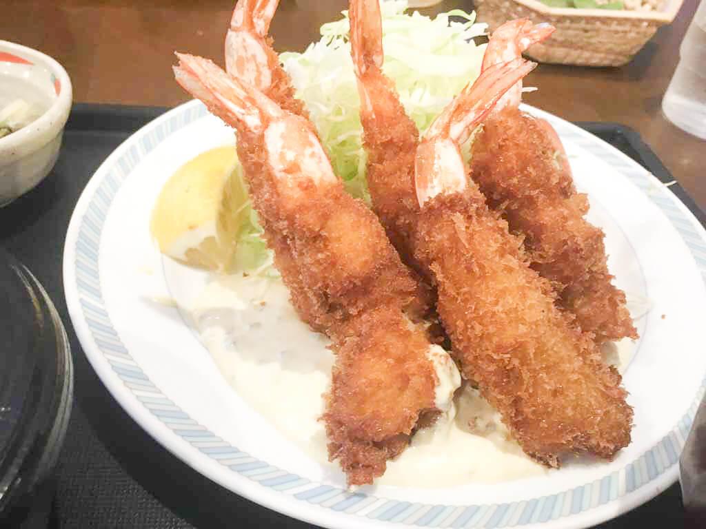 エビフライ定食 1,300円