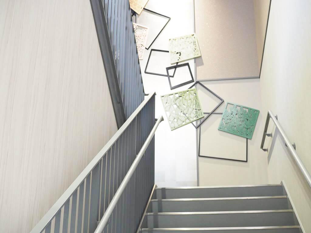 レガートスクエアの階段