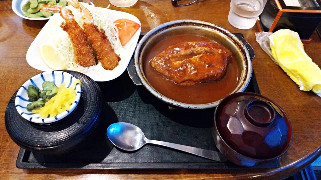 ペアフライ定食 1,400円