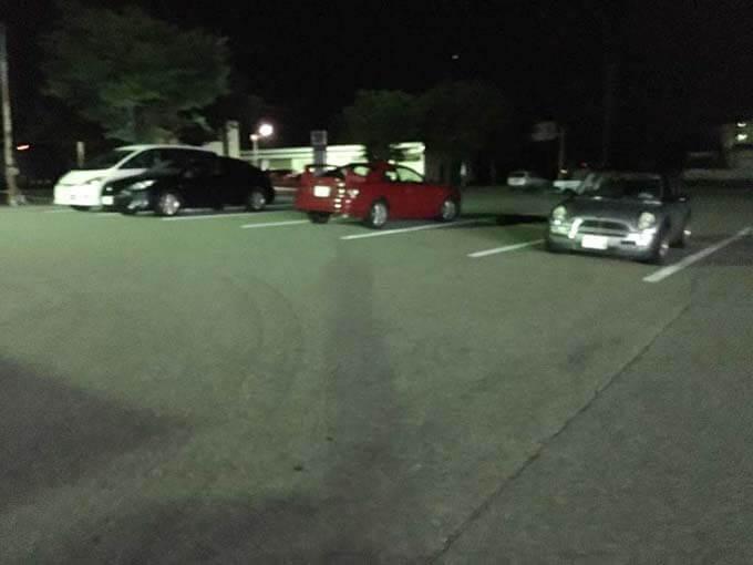 駐車場は広いので現地集合でもOK