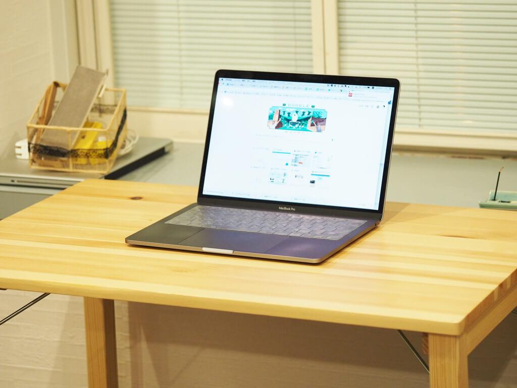 相棒のMacBookPro(13インチ)