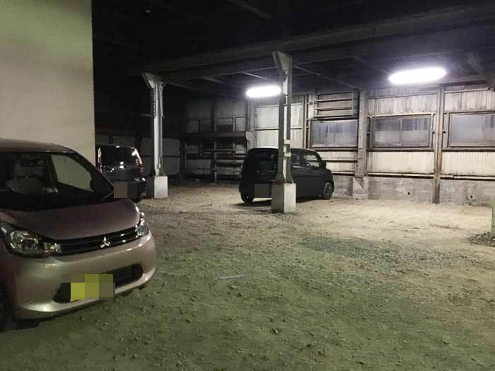 リストランテ リオの駐車場 その2