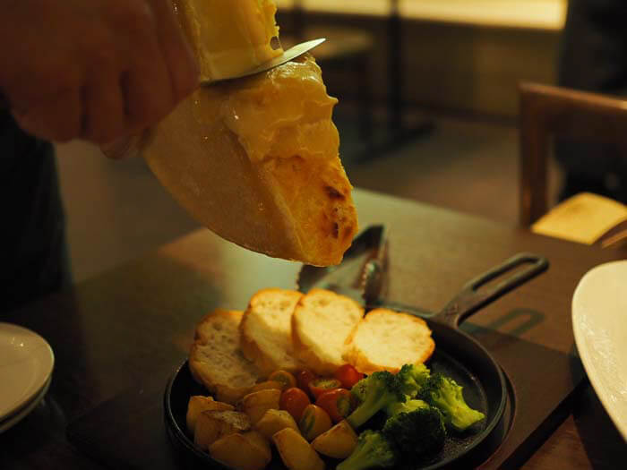 ラクレットチーズ その1