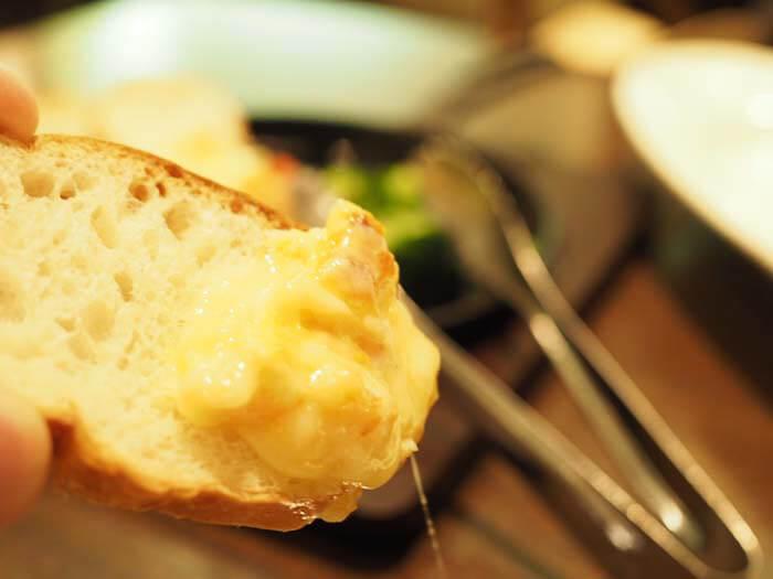 ラクレットチーズとブレット