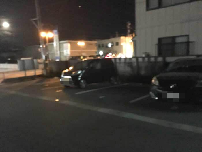 麺王の第2駐車場