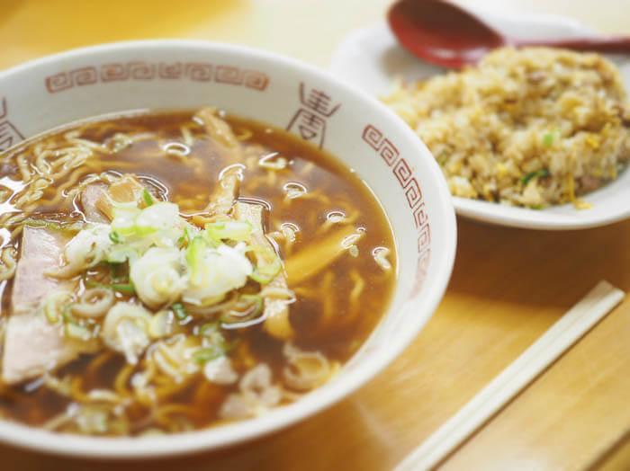 【とんとん亭 五福】富山大学近くの老舗中華料理屋!「コスパの高いラーメンセット」