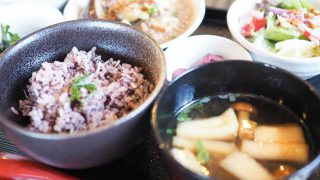 カフェめしA「惣菜3種の定食」 850円