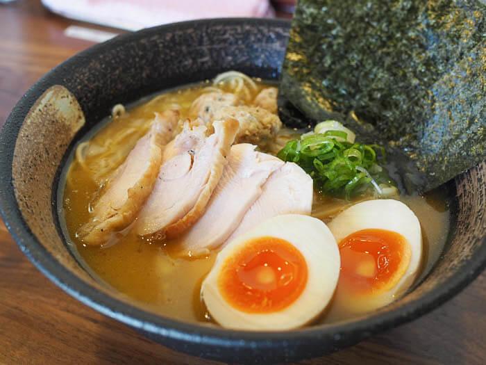 特製濃厚鶏そば(醤油) 980円