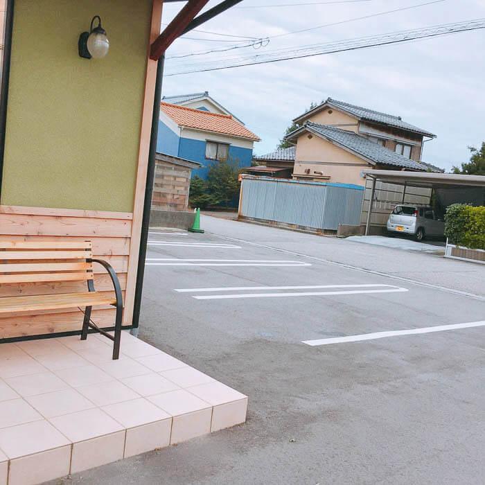 『Pain du R(ぱんどあーる)』の駐車場