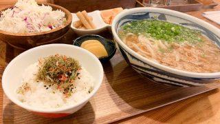 【NaNiwa(なにわ)】総曲輪で「かすうどん」を食べる!!夜は創作居酒屋になるおしゃれ空間