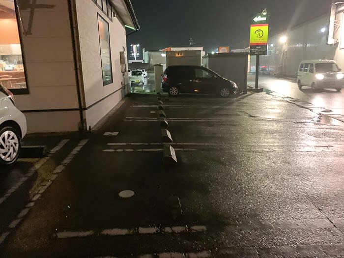 駐車場 側面