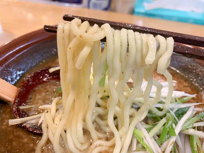 中太麺が好み
