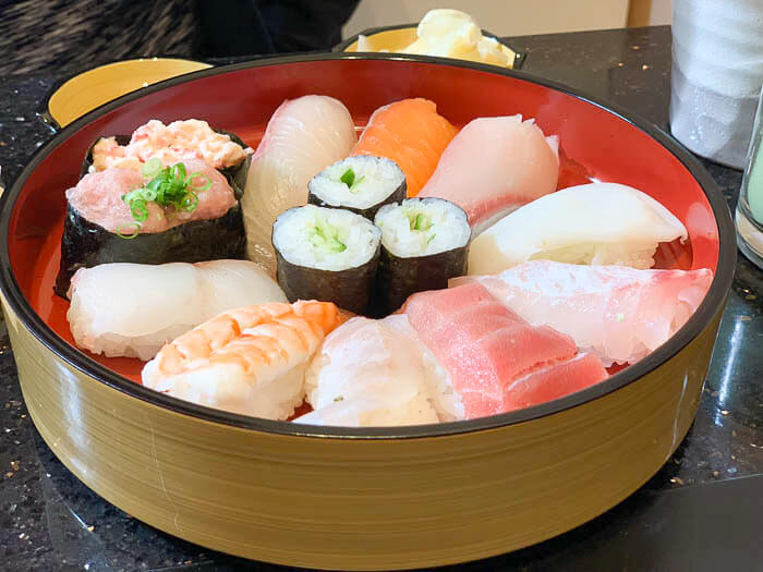 寿司ランチセット 1,000円