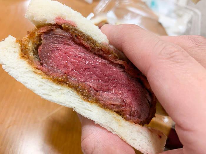 牛ヒレ肉のカツサンド その2