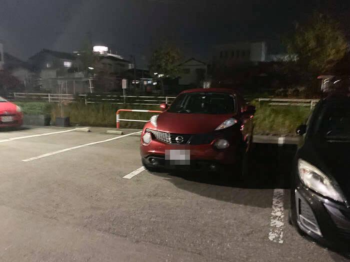 エアーストリームの駐車場