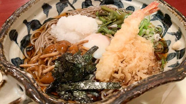 【そば 司や】富山市で絶対リピート確定のお店発見!!「野菜かきあげ丼もうまい」