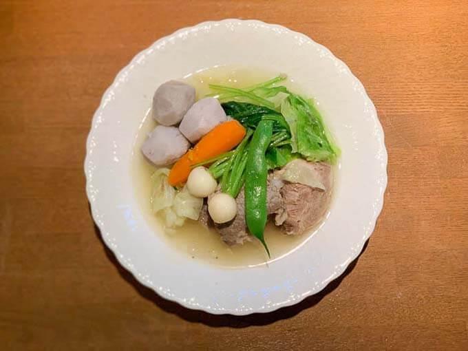 氷見の野菜を使った豚肉のポトフ