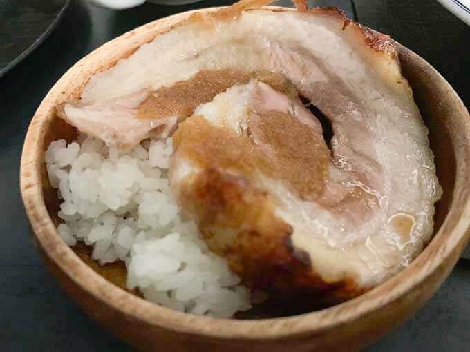洋風チャーシュー丼