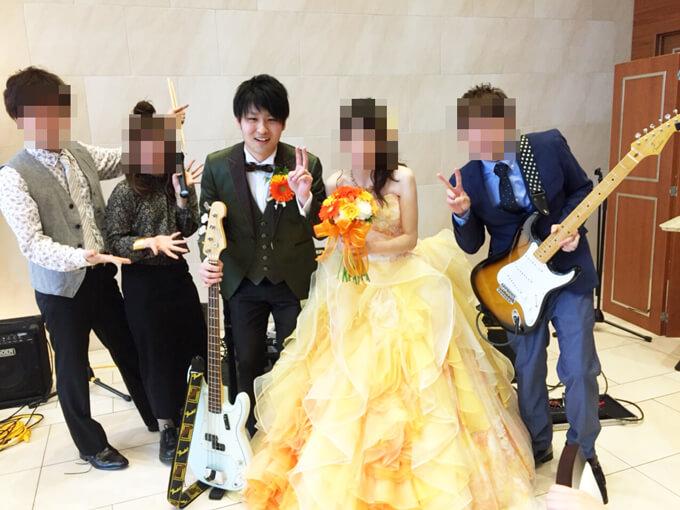 ララシャンスで結婚式を挙げる