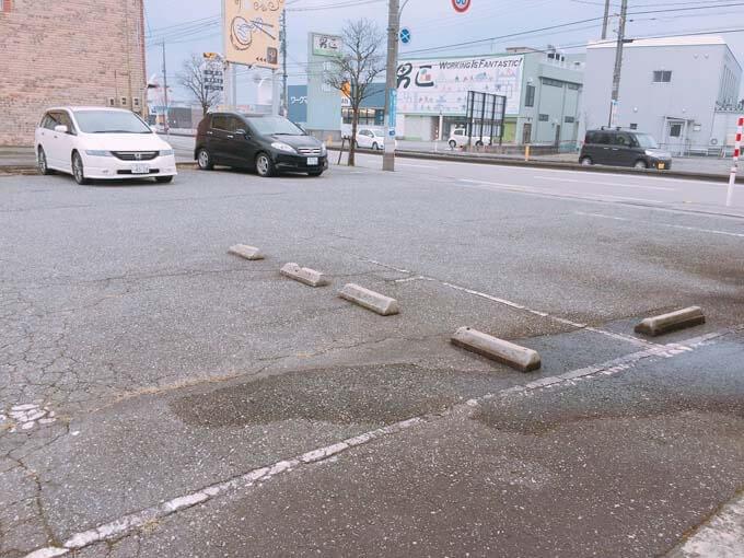 広々とした駐車場スペース