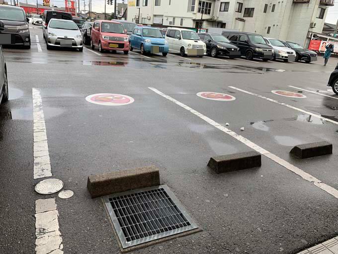 妊婦さん用の駐車場