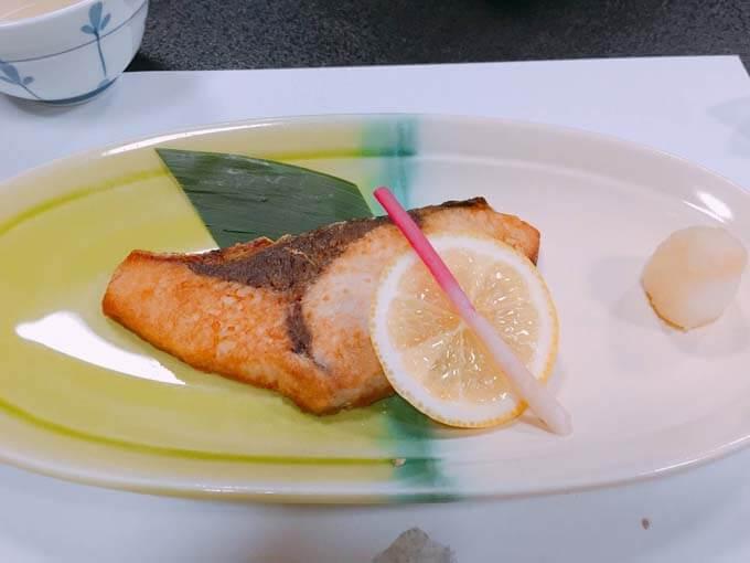 氷見のブリの焼き魚