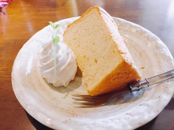 生姜のシフォンケーキ