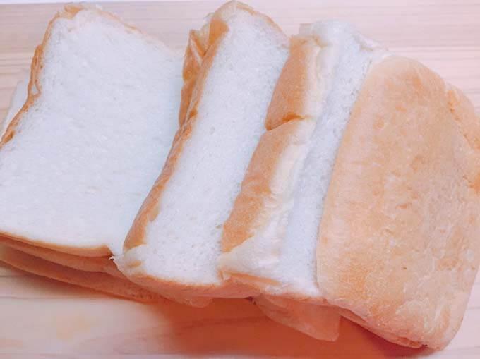 中身がずっしりした食パン